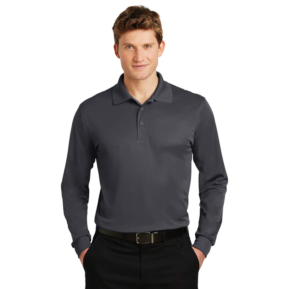 Russell Performance Long Sleeve Polo