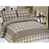 New York City King Stitched Quilt Set