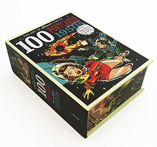 The Art of Classic Comics: 100 Postcards From the Fabulous - Postcard 1950's