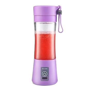 Kitchen Appliances Mini Juice Cup, Exprimidor eléctrico portátil, Exprimidor pequeño para el hogar, Mezclador Uso Personal (Color : Púrpura): Amazon.es