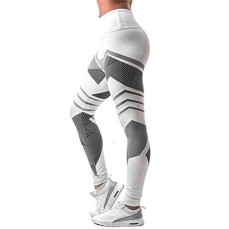 5c2f8f55b90f5 Rawdah Pantalon De Yoga Coutures Mode Nouveau Femmes Leggings Taille Haute  Élastique Yoga Fitness Sports en
