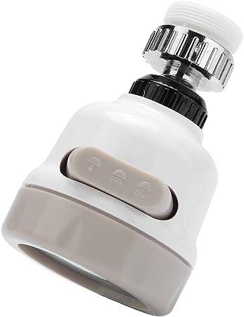 T/ête de Robinet de Cuisine 360 Anti Splash Rotatif d/économie deau Robinet Device 2 Modes Buse Filtre