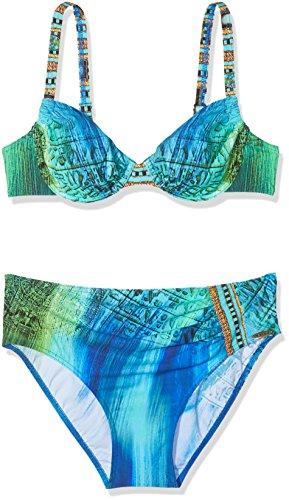 Blue 26 Sunflair Mumbai Bikini Donna Coordinato Calling Blue wq8Y8xT0a