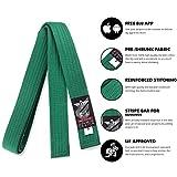 Elite Sports New Item Judo Belt (3), Green