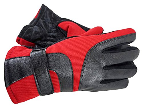 red and white cycling gloves - 3
