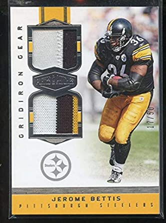 timeless design c0f21 4d02d Amazon.com: Jerome Bettis 2017 Panini Plates and Patches ...