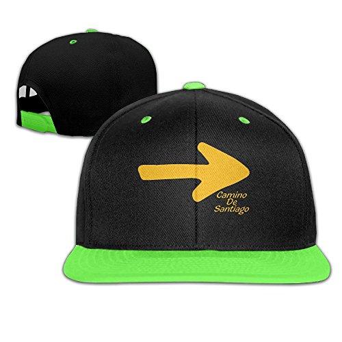 sunny-fish6hh-unisex-adjustable-camino-de-santiago-hiphop-baseball-caps-hat-for-kids-teenager-kellyg