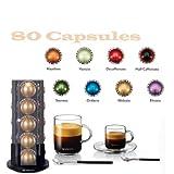 hazelino nespresso - Nespresso Vertuoline Coffee & Espresso (Vertuoline Welcome Set, Coffee 80 Capsules)