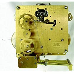 Hermle 1050-020 Triple Chime Mantel Clock Movement With Bronze Bushings