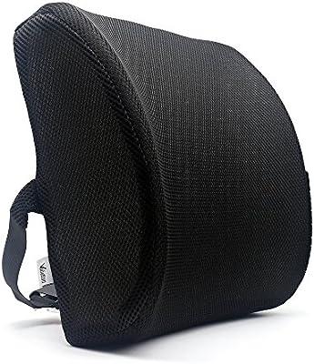 Valuetom Premium apoyo lumbar almohada - Espuma de memoria Lumbar cojín de apoyo para su casa, silla ...