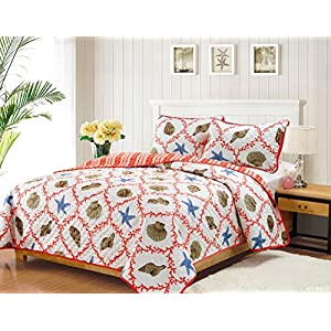 51Pd1IA%2B4%2BL._SS300_ 50+ Starfish Bedding Sets and Starfish Quilt Sets