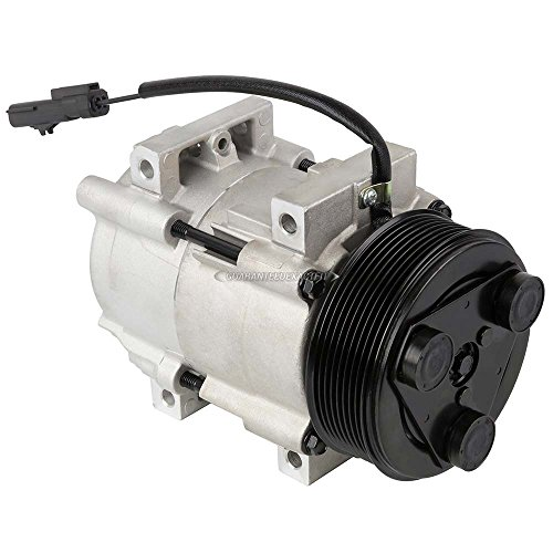 AC Compressor & A/C Clutch For Dodge Ram Cummins 6.7L Diesel 2007 2008 2009 - BuyAutoParts 60-01812NA New