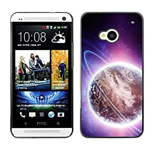 Stuss Case / Funda Carcasa protectora - The Illuminated Earth - HTC One M7