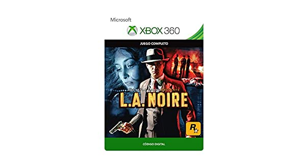 L.A. Noire Standard | Xbox 360 - Código de descarga: Amazon.es: Videojuegos