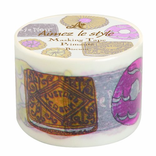 Aimez Le Style Wide Washi Tape Biscuits by Aimez le style