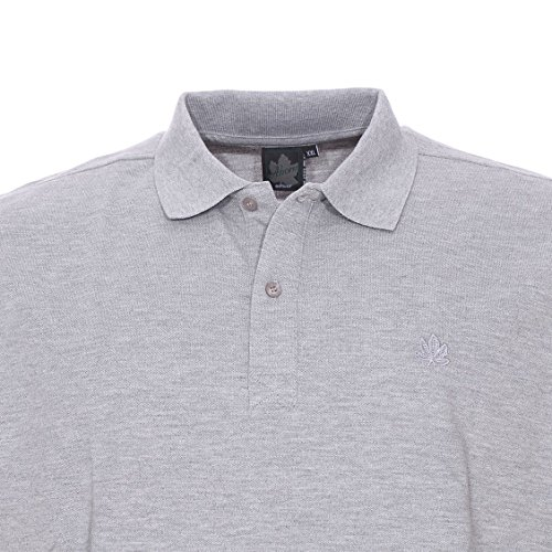 Grey Polo Cotton Size Ahorn Big qwUxtWR