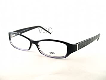 322d61872829 Image Unavailable. Image not available for. Color: FENDI EYEGLASSES F 838R BLACK  002 F838R