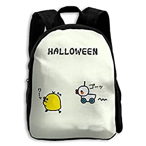 School Season Kids Shoulder Bag Toddler Bookbag Rucksack Child Halloween Duck Chik Backpack Handbags Unisex