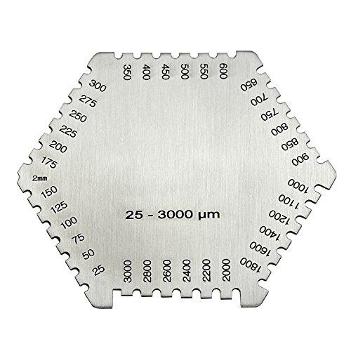 wet film comb - 2