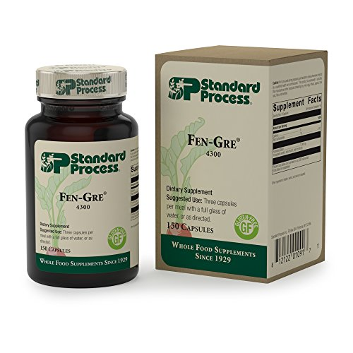 Cheap Standard Process – Fen-Gre – Supports Healthy Glucose Metabolism and Healthy Blood Lipid Profiles, Gluten Free – 150 Capsules