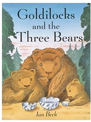 book cover of Goldilocks and the Three Bears