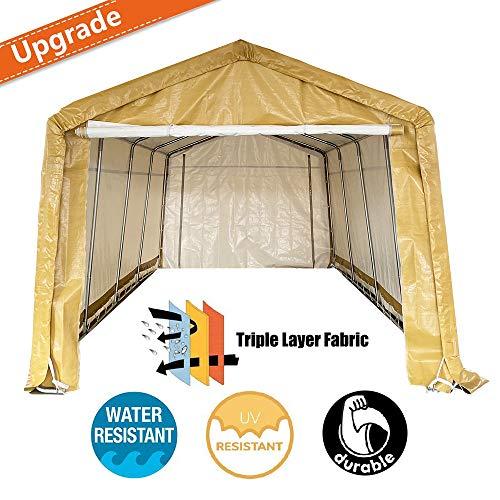 enclosed carport canopy - 6