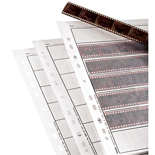 Sheet Film Holder (Hama Archival Negative Glassine Sheets Sleeves for 35mm Films - 100pcs)