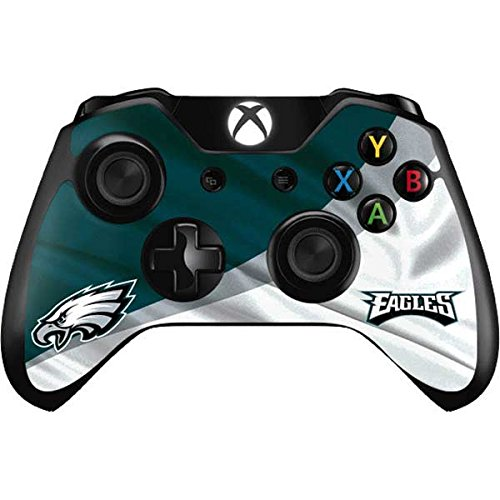 (Skinit Philadelphia Eagles Xbox One Controller Skin - Officially Licensed NFL Gaming Decal - Ultra Thin, Lightweight Vinyl Decal Protection)