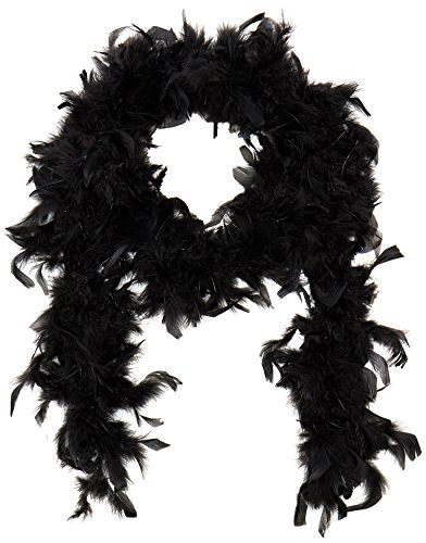 Deluxe Boa Adult Costume Accessory Black