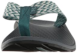Chaco Women\'s Flip Ecotread Athletic Sandal, Trellis Teal, 9 M US