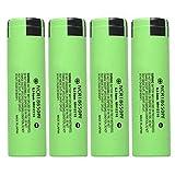 Best 18650 Batteries - 4 Pcs/Pack 3.7V 18650 3400mAH Li-ion Rechargeable Battery Review