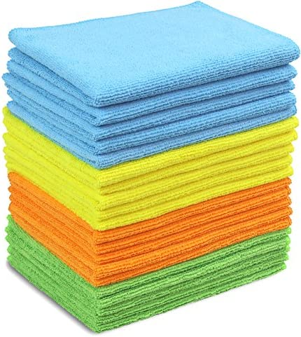 20 Pack SimpleHouseware Microfiber Cleaning