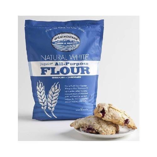 Wheat Montana Natural White All-Purpose Flour, 5 lb by Wheat Montana