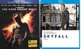 Bond and Batman - Skyfall & Batman: The Dark Knight Returns (Limited Edition Blu-ray/DVD/Untraviolet Lenticular Cover) 2-Blu-ray Bundle