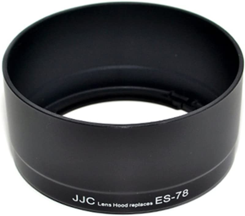 JJC LH-78 Lens Hood Shade for Canon EF 50mm f//1.2L USM Lens Replaces Canon ES-78