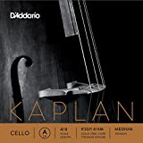D'Addario Kaplan Cello Single A String, 4/4 Scale, Medium Tension
