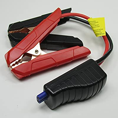 "HEAVY DUTY Antigravity Batteries ""Smart Clamps"" - Replacement Jumper Cables with Built in Reverse Polarity and Short Circuit Protection - ONLY Works with Micro-Start XP-10"