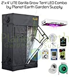 Cheap Gorilla Grow Tent LITE (2′ x 4′) LED Combo Package #2