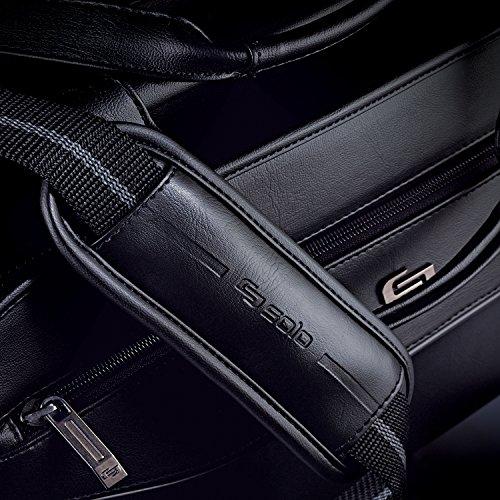 Solo Harrison 16 Inch Triple Compartment Laptop Briefcase, Black by SOLO (Image #4)