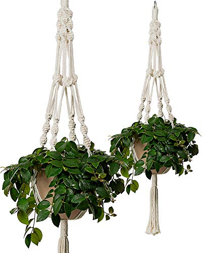 Bulky Plant Hanger Macrame Handmade Indoor Outdoor Decoration Hanging Planter...