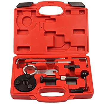 Supercrazy VW Audi A1 A3 A4 A5 A6 TT Q3 Q5 VAG 1.6 & 2.0L TDI Engine Camshaft Locking Alignment Timing Tool Kit SF0196