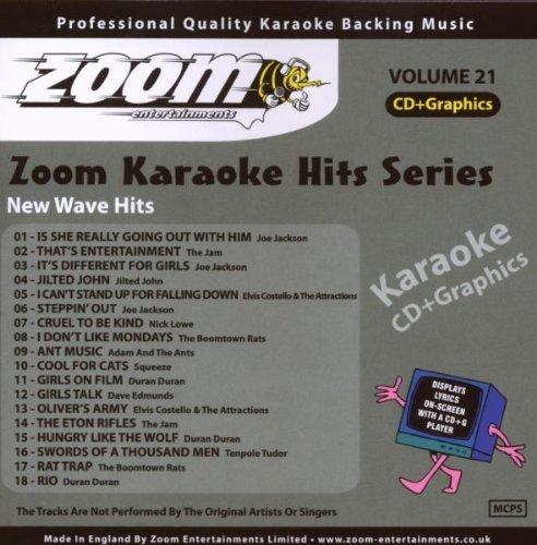 (Zoom Karaoke CD+G - Karaoke Hits 21: New Wave Hits by Zoom Karaoke)