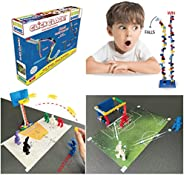 CLICK CLACK Exclusive Family Game Indoor Kids Activities Stem Learning Set Toy Fun for Children and Adults---I