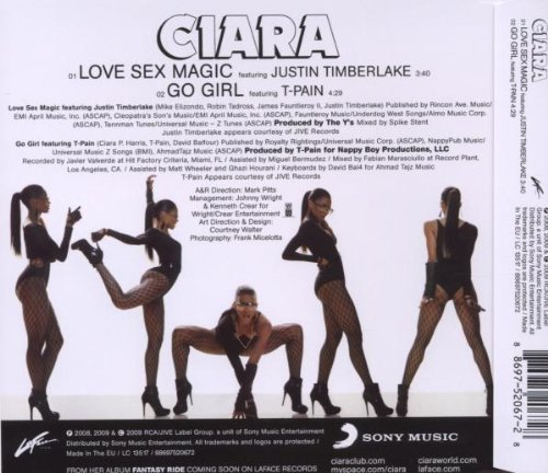 Lyrics to love sexy magic by ciara