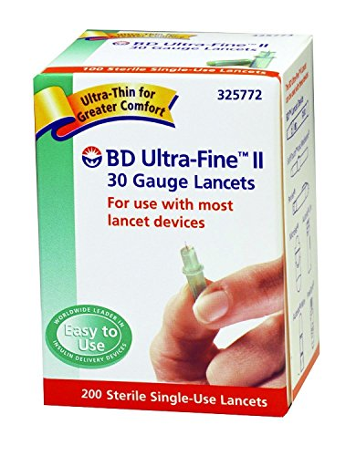 becton-dickinson-ultra-fine-ii-lancet-30g-200-count