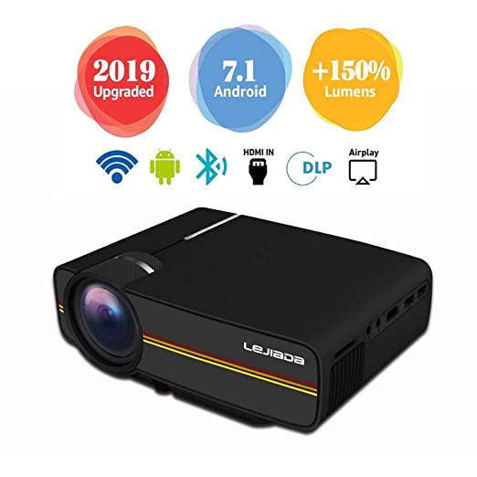 GBYNB Smart Projector Mobile Phone Straight with Screen Home Mini ...