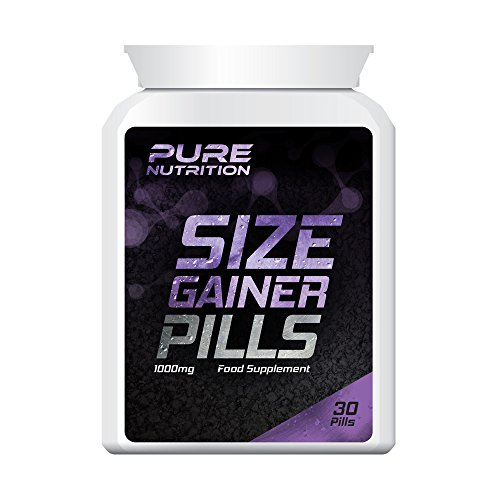 PURE NUTRITION SIZE GAINER PILLS – WEIGHT GAINER PILL GET BIGGER MUSCLES...