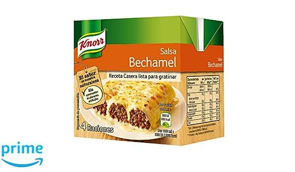 Knorr Salsa para Cocinar Líquida de Bechamel Refrigerada - Pack 12 x 500ml: Total 6000ml: Amazon.es: Alimentación y bebidas