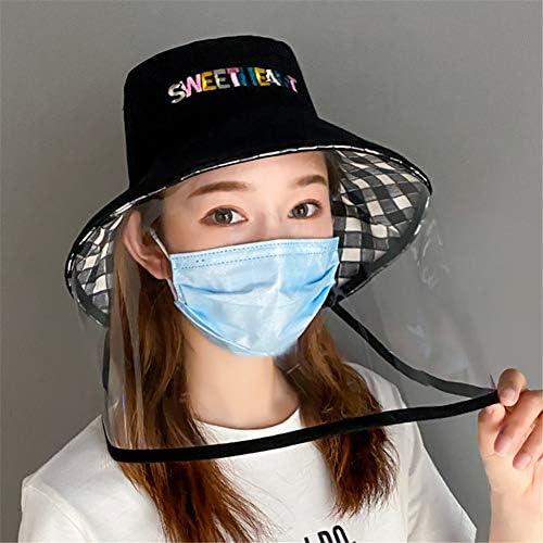 男性と女性の大人の抗嘔吐と消臭の帽子安全な抗嘔吐と消臭の帽子フルフェイス保護防曇カバー透明尖った帽子防水と防塵屋外の太陽の帽子