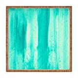 Deny Designs Madart Inc. Modern Dance Aqua Passion Indoor/Outdoor Square Tray, 16 x 16